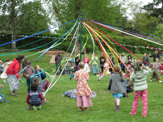 history of the beltane maypole