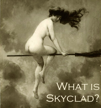 witchcraft and doing skyclad rituals