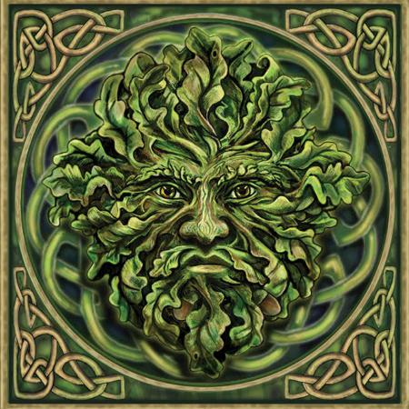 Holly king and oak king mythology