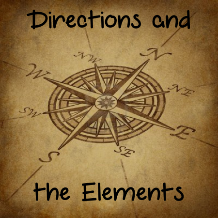 directions and elements in Wicca