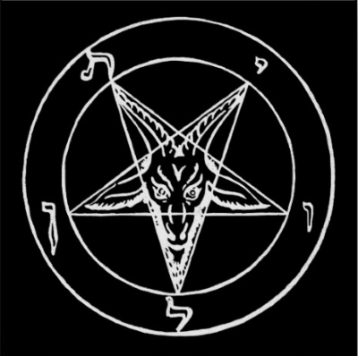 inverted pentagram of Baphomet